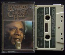 Kamahl Live At Carnegie Hall Tape Cassette (C23)