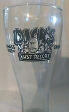 Dick's Last Resort BIG ASS Beer 22 oz Glass Gatlinburg