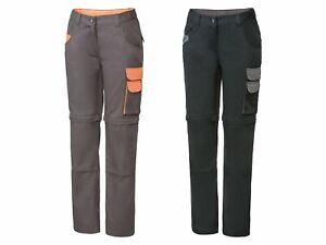 NEU Damen Arbeitshose Sicherheitshose Bermuda Kurz Bundhose Hose Schutzkleidung