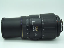 Nikon fit Sigma APO 70-210mm 1:3.5-4.5 D AF Zoom lens Macro gold band edition
