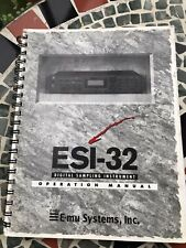 Emu Esi 32 Original Manual