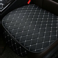 Universal PU Leather Car Seat Cover Protector Cushion Chair Mat Front Breathable