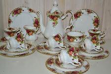 Royal Albert-Bone China-England-Old Country Roses-Kaffee/Tee-Service-Komplett-To