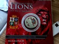 New Zealand - 2017 -UNC $1 BU Coin- The British & Irish Lions