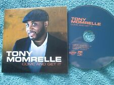 Tony Momrelle Come And Get It Reel People Music stickered UK Promo CD Single