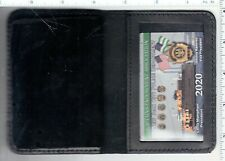 2020 CEA CARD in a DEPUTY INSPECTOR LEATHER FAMILY MEMBER WALLET NOT LBA SBA PBA