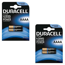 2X Pack of 2x Duracell AAAA 1.5V ULTRA Batteries MN2500 E96 MX2500 LR8D425