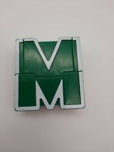 """Lakeshore Alpha Bots Replacement Letter  """"M""""  Transforms to Robot"""