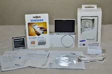 Samsung NX Mini 20.5 MP Digital Camera - White ( Body Only) + Extras, Excellent!