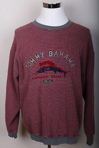 Tommy Bahama Large Marlin Letter Logo Sweatshirt Men's Size L