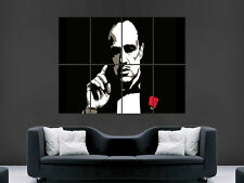 THE GODFATHER TV MOVIE CULT CLASSIC WALL POSTER ART PICTURE PRINT LARGE HUGE