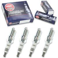 4 pc 4 x NGK Iridium IX Plug Spark Plugs 3691 TR8IX 3691 TR8IX Tune Up Kit wc