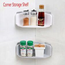 Suction Cup Corner Storage Rack Bathroom Shelf  Shower Holder Shampoo Organizer