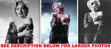 MARILYN MONROE SEXY IN LINGERIE SHOOT 3xRARE5X7 PHOTOS