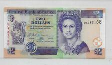 Belize 2005 $2 banknote P66b (unc)