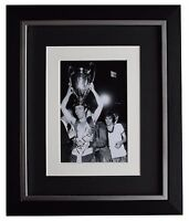 Dave Sadler SIGNED 10x8 FRAMED Photo Autograph Display Manchester United COA
