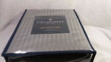 Full Size Fieldcrest Satin Stitch Damask 500ct Sheet Set Grey