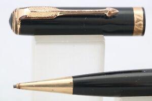 Vintage (c1956) Parker Duofold No. 3 Black Mechanical Pencil, GT