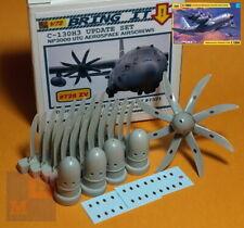 """1/72. C-130H-3 """"Hercules"""" NP2000 airscrews set, by """"Bring it!"""" #728ZV"""
