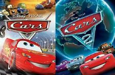 Cars 1 2 DVD Disney Movies With Slipcover