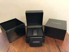 Authentic New MOVADO WATCH BOX Presentation Retail Gift Display Classy