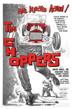 1961 THE CHOPPERS VINTAGE ACTION MOVIE POSTER PRINT 24x16