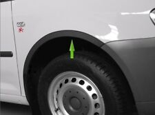 Vw Caddy Mk3 Black matt wheel arch trims Front 2 pcs left right wings kit '04-10