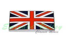 Classic Mini New Enamel Stick On Union Jack  Badge