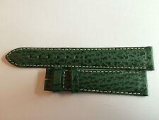 Original ZENITH   strap Vert   18mm