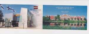LN69135 Latvia palace buildings good booklet MNH