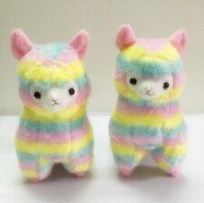 Rainbow Amuse Alpaca Lama Plush Toy Alpacasso Doll Arpakasso Stuffed Animal Toys