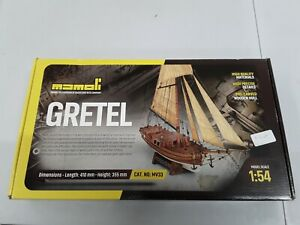 Mamoli MV33 Gretel 1:54 Modeling Rare Cool Ship Model Kit