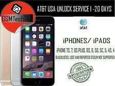 AT&T - All iPhones X and 8 - 100% PREMIUM FACTORY UNLOCK SERVICE - CONTRACT/NEXT