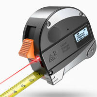 Handheld Digital Distance Meter Laser Tape Measure Range Finder 30m + 5m