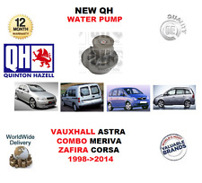 FOR VAUXHALL ASTRA COMBO CORSA MERIVA ZAFIRA 1998-2014 NEW QH WATER PUMP