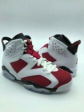 "Air Jordan 6 Retro ""Carmine"" (384664-160) (2014) Men's Shoes, 7.5 US"