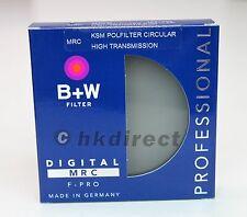 B+W 46mm F-PRO Kaesemann HTC High Transmission Circular Polarizer MRC Filter