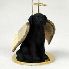 Flat Coated Retriever Ornament Angel Figurine Hand Painted