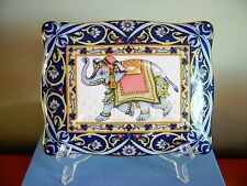 WEDGWOOD  Blue Elephant  Double Deck Playing Card or trinket box