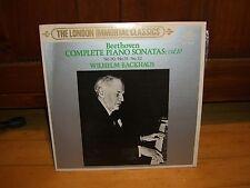 BEETHOVEN PIANO SONATAS VOL.10-BACKHAUS-LONDON/KING JAPAN AUDIOPHILE  MZ 5010 LP