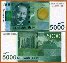 Kyrgyzstan, 5000 (5,000) Som, 2009, P-30, UNC
