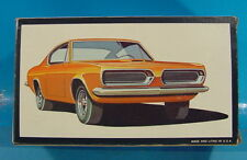DL VINTAGE 1/43 SCALE AMT 3511 MINI TROPHY SERIES PLYMOUTH BARRACUDA MODEL KIT