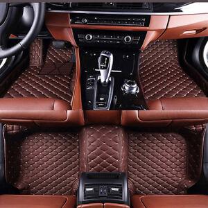 Car Floor Mats for Ford Explorer 5 Seat 2006-2015 Custom-Fit Waterproof Car Mats