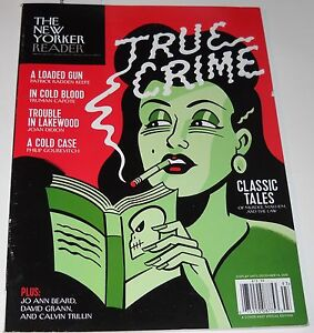 New Yorker Magazine Special Edition True Crime 2015 Classic Tales of Murder