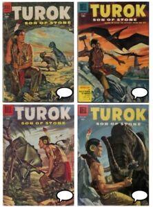 TUROK Son of Stone #1 – 131 + ANNUAL 132 comics on DVD Dell Gold Key 1956