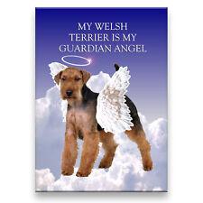 Welsh Terrier Guardian Angel Fridge Magnet New Dog