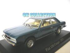 1:43 modellino FIAT 130 COUPE' - 1971 _ (05) blue color
