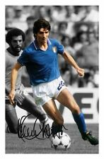 PAOLO ROSSI - ITALY AUTOGRAPHED SIGNED A4 PP POSTER PHOTO