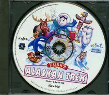 Zurk's Alaskan Trek CD-ROM soleil software 1995