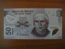 Billet Mexique, Mexico 50 pesos, 2008, Polymer